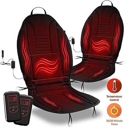 Zone Tech Heated Car Seat Cushion