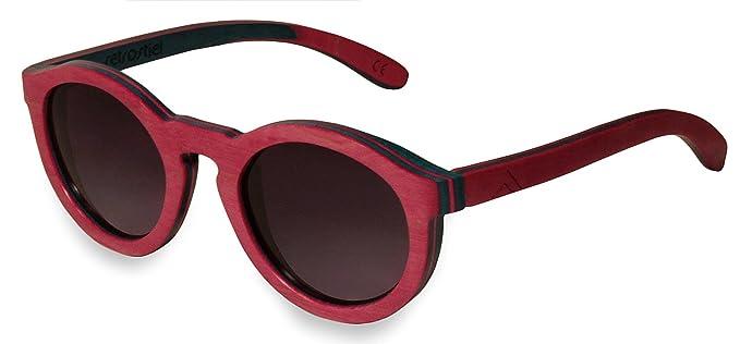 Gafas de sol de madera monopatín Sweetheart: Amazon.es: Ropa ...