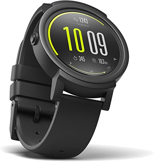 Mobvoi Ticwatch E Android Wear 2.0, 1.4 inch OLED Display, Compatible with iOS and Android