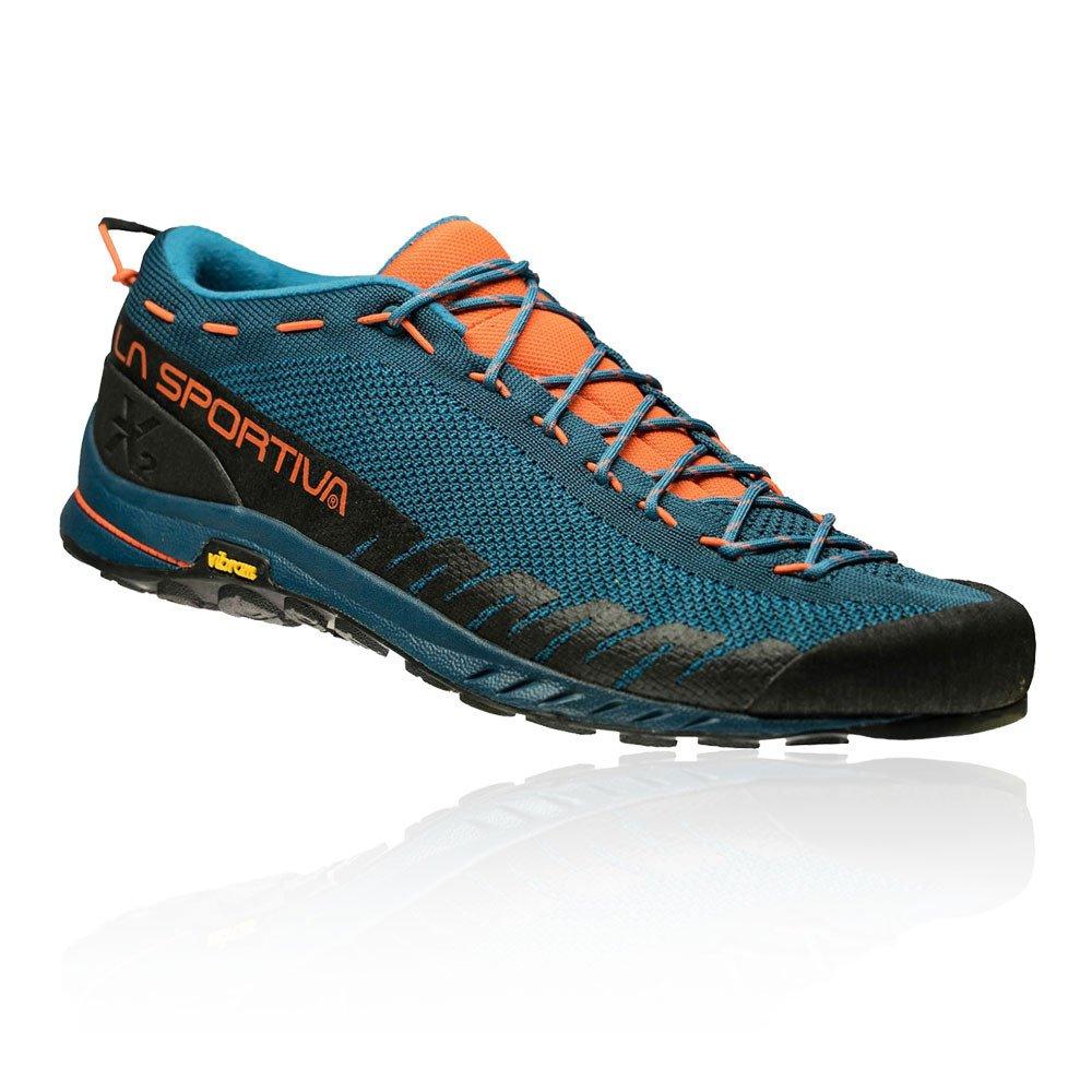 La Sportiva Unisex-Erwachsene Tx2 Ocean Flame Trekking-& Wanderhalbschuhe, Wanderhalbschuhe, Wanderhalbschuhe, blau, 47 EU d18252