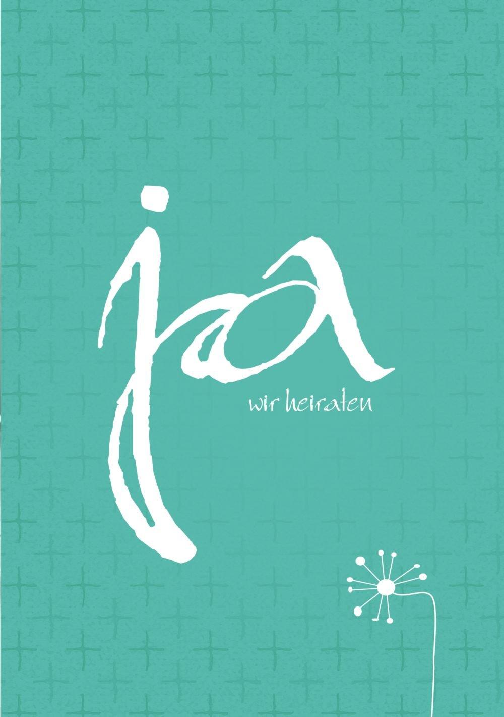 Kartenparadies Hochzeitskarte Hochzeitskarte Hochzeitskarte Hochzeit Einladung abstrakte Blaumen, hochwertige Einladung zur Heirat inklusive Umschläge   100 Karten - (Format  105x148 mm) Farbe  AquaTürkis B01N12R3PY   Kaufen    Sofortige Lieferung    Roman  76d403
