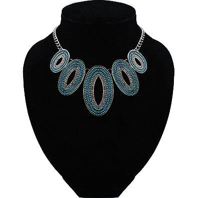 0a029d749d10 Collar de gargantilla con collares étnicos