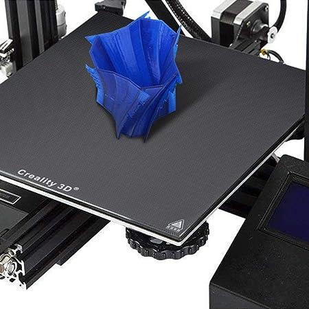 ETbotu - Plataforma de cristal para impresora 3D de 235 x 235 mm para Creality 3D Printer Ender-3 School Office Supplies