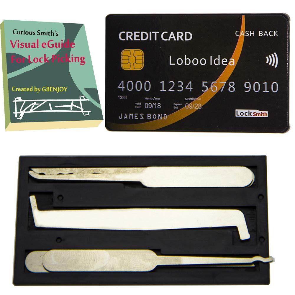 GBENJOY - Juego de ganzúas de bloqueo para tarjetas de ...