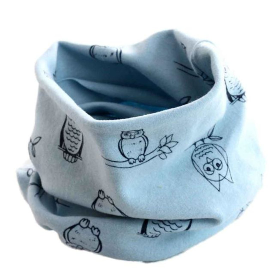 Voberry Autumn Winter Unisex Baby Toddler Kids Warm Neck Warmer Wrap Shawl Scarves YXP60824643BU_QMJ