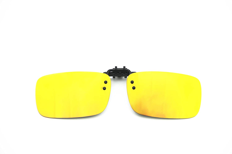 dd09361327cd Cyxus   2 Pack   Polarized Lenses Classic Clip-On Sunglasses ...