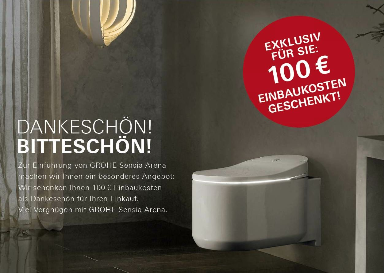 Grohe 39354SH0 Sensia Arena Shower Toilet