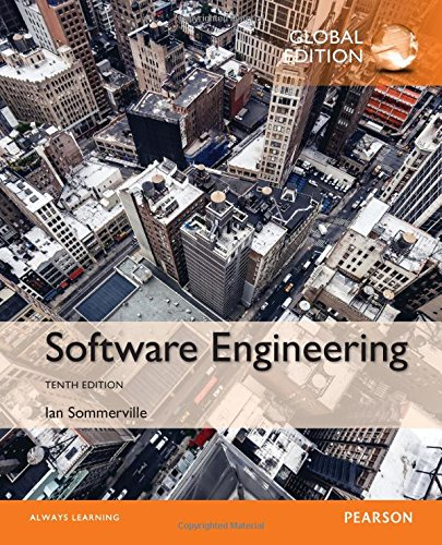 Software Engineering, Global Edition, 10th Edition Front Cover
