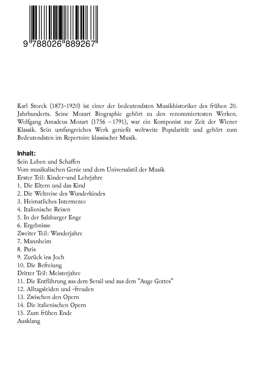 Wolfgang Amadeus Mozart Deutsch Daf Arbeitsblatter