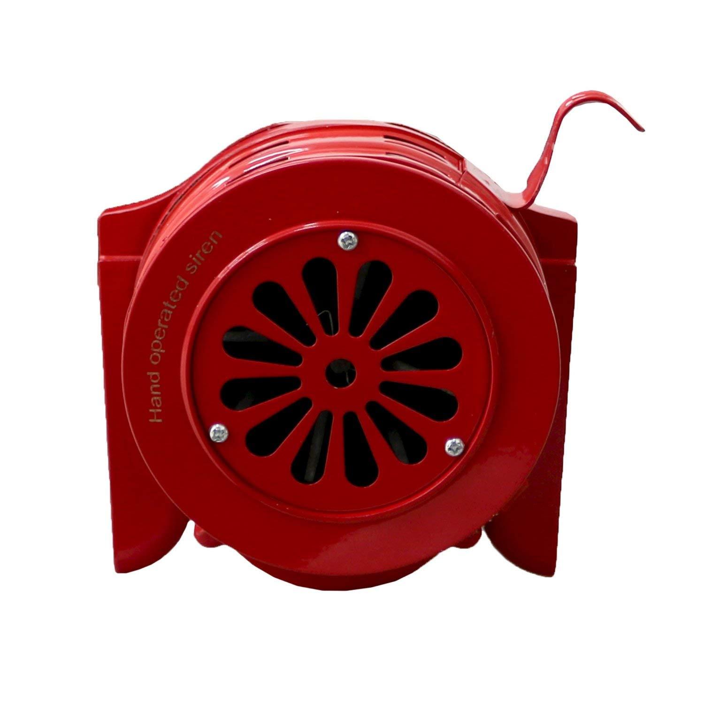 Oypla Mano Operado Raid Crank S/écurit/é de la sirena de alarma de incendio de emergencia