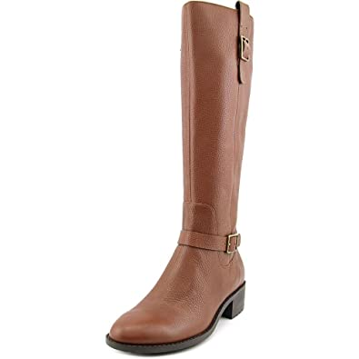 Cole Haan Womens Kenmare Almond Toe Knee High Riding, Harvest Brown, Size  6.0