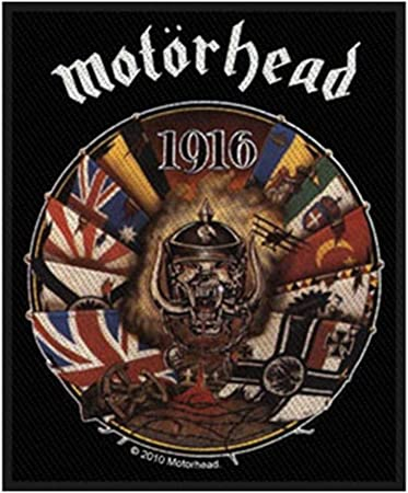 Motorhead Rock Band Sew or Iron on Patch NEW