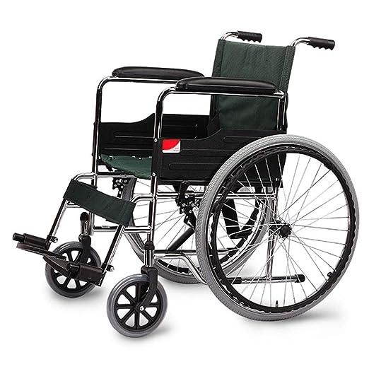 MJY Andador portátil plegable ligero para silla de ruedas de ...