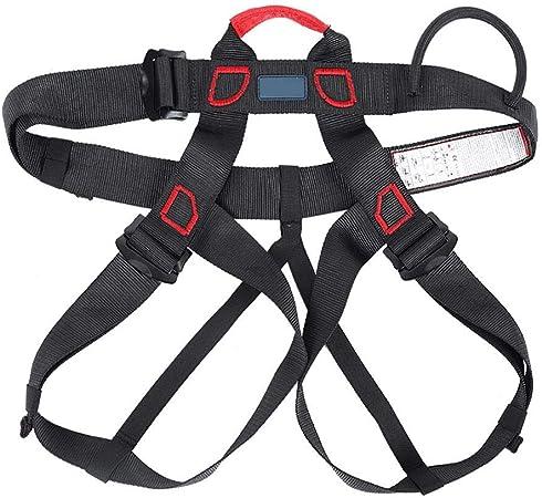 Dioche Kits de arnés de Seguridad, Arneses de Seguridad para la detención de caídas, Cinturón de Seguridad de Medio Cuerpo para Escalada en Roca ...