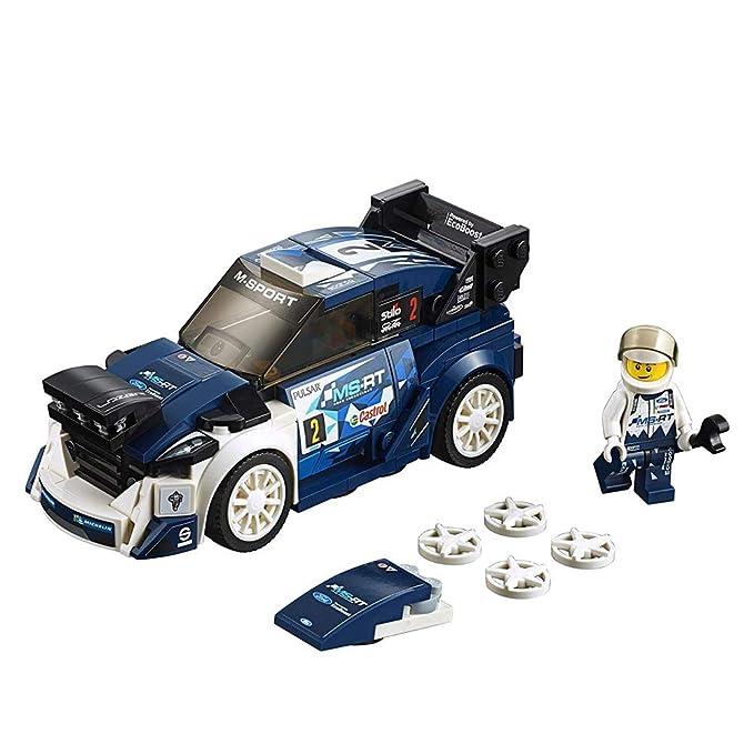 GWO Speed Champions Ford Fiesta M-Sport WRC Rally Toy Car, Juego De Construcción para Niños: Amazon.es: Hogar