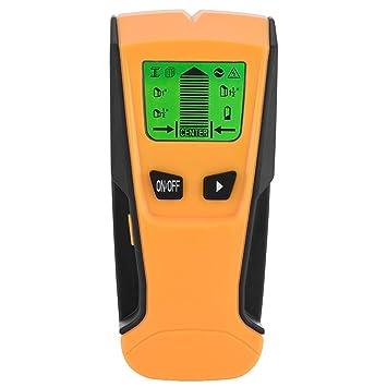 Zerone 3 en 1 Buscador de Centro de Pernos, escáner electrónico de Pared de Alambre Detector para AC Alambre Metal Tubo de Madera: Amazon.es: Electrónica