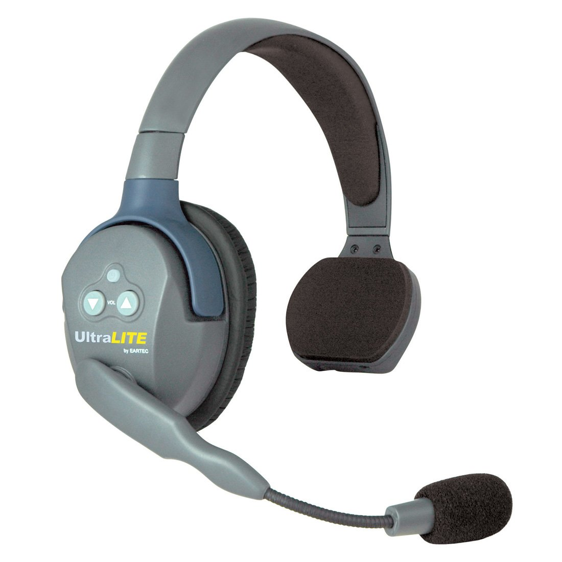 Eartec UltraLITE Single Remote Headset with Microphone and Rechargeable Lithium Battery