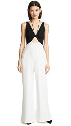 44d9805f527 Amazon.com  Jill Jill Stuart Women s Two Tone Jumpsuit