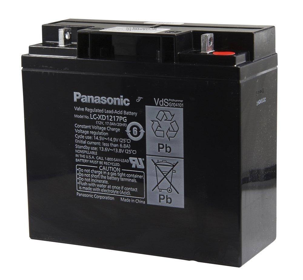 Original Panasonic batería de gel de plomo AGM de tecnología para ...