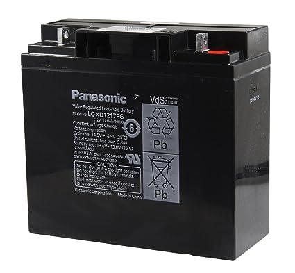 Original Panasonic batería de gel de plomo AGM de tecnología ...
