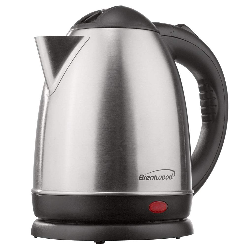 ROYAL TEA KETTLE - 1.2 Liter Stainless Steel Electric - Smart Cordless Hot Water Unique Imports SYNCHKG123572