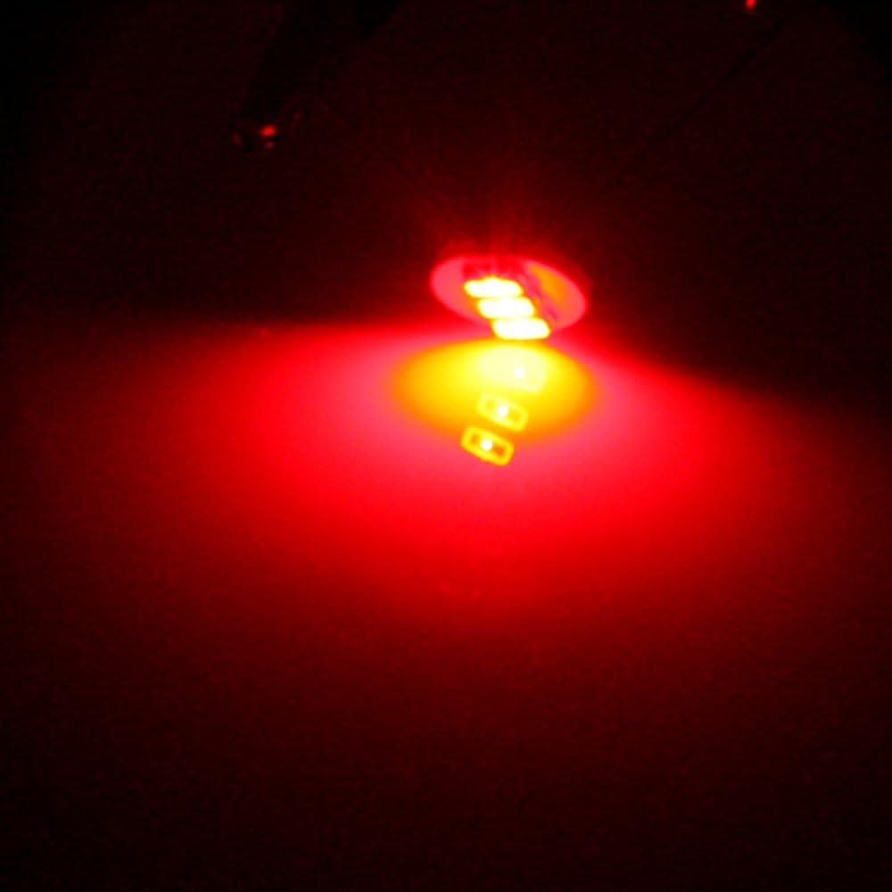 4Pcs Motors,10Pcs LED Lights ROADFAR X27.168 Stepper Motors Repair Kit with Red 4.7mm Light Bulbs for GM Yukons Chevy Silverados Tahoes Instrument Panel Gauge Cluster