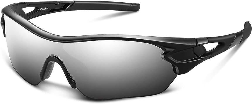 Bea Cool Gafas De Sol Polarizadas Deportivas Para Hombres Mujeres Jóvenes Béisbol Ciclismo Correr Conducir Pescar Golf Motocicleta Tac Gafas Astilla Negra Amazon Es Deportes Y Aire Libre
