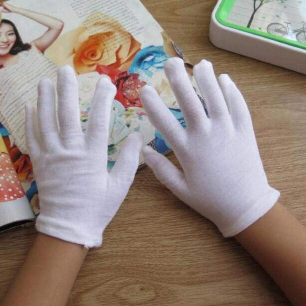 GBSTA Guantes Blancos Guantes de algodón Blanco para niños Guantes ...