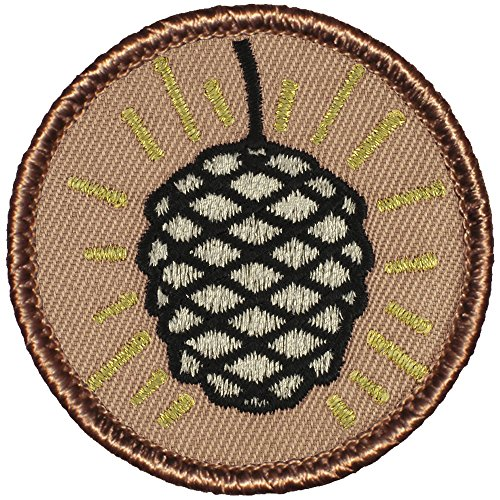 Patch Pinecone - The Metallic Pine Cone Patrol Patch - 2