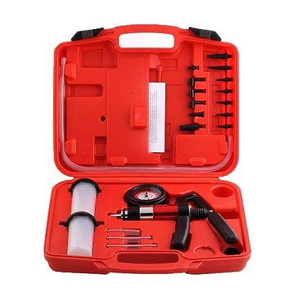 Femor Kit Bomba de vacío Bomba Manual para purga de frenos, purgado de frenos para