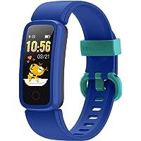 BIGGERFIVE Vigor Pulsera Actividad Inteligente Reloj Inteligente para Niños Niñas Mujer, Impermeable IP68 Deportivo…