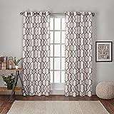 natural linen curtain panels - Exclusive Home Curtains Kochi Linen Blend Grommet Top Window Curtain Panel Pair, Natural, 54x84