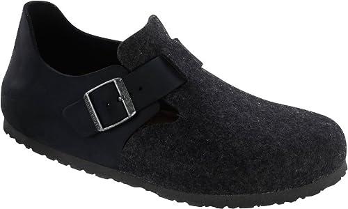 PxfVvF2saG Original London Waxy Cuoio/Wool Normale, Black/Anthrazit, 366341 39,0