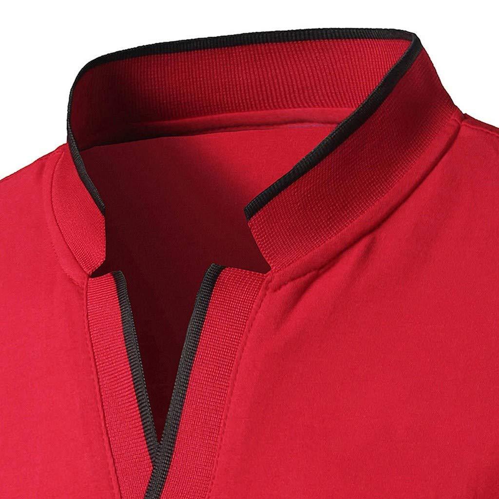 Camisa de Polo de Manga Corta de la Juventud del Collar de Hombre ...