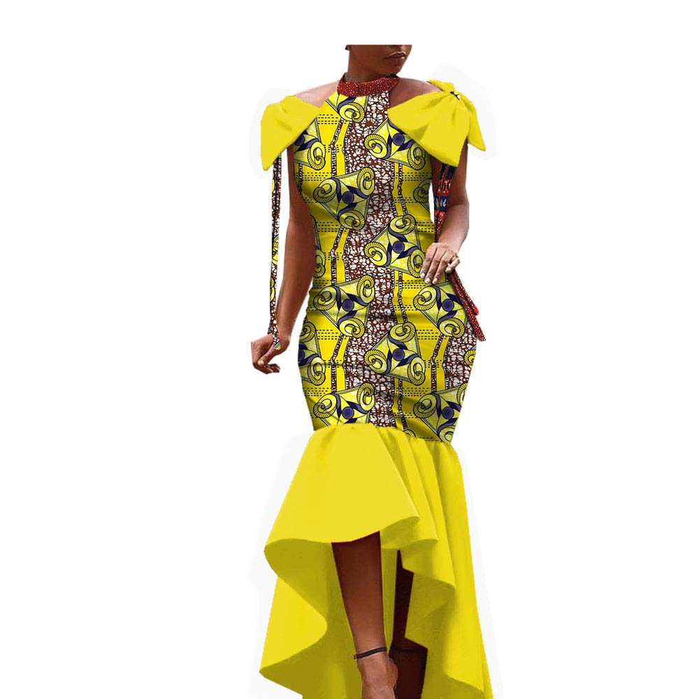 2019 Vestido de Tela Africana para Mujeres y niñas Ankara ...