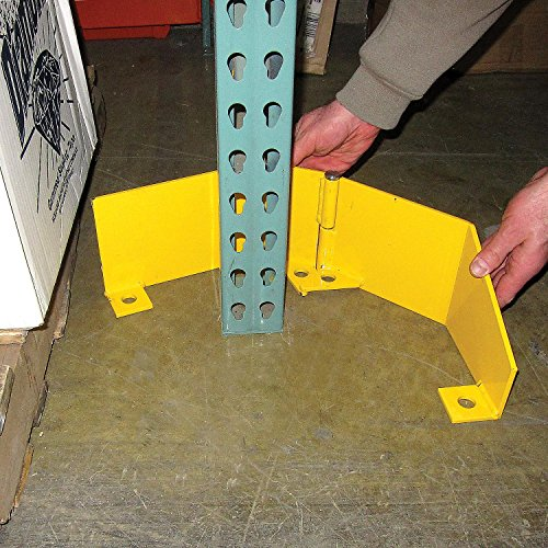 Extra Heavy Duty Frame Guard, Right, Steel, Yellow by Global Industrial