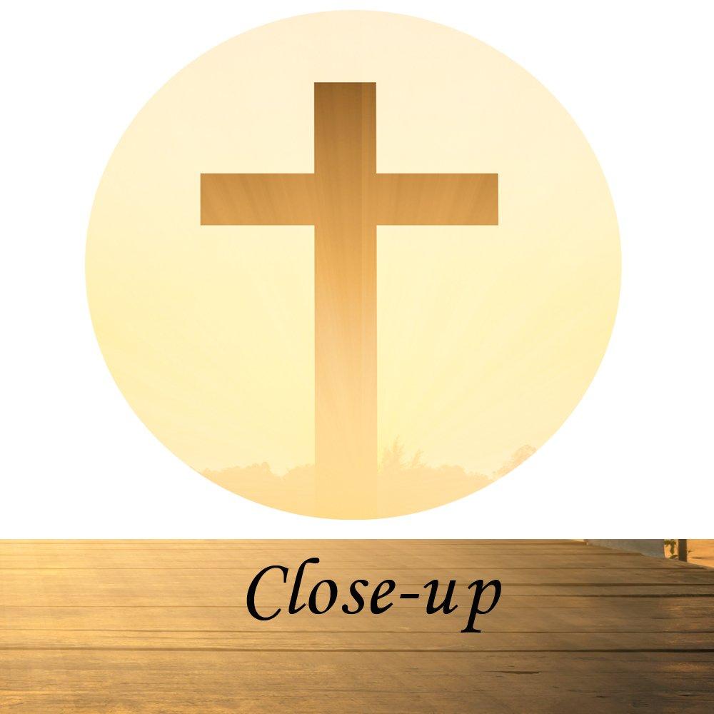 Amazon.com: Kreative Arts - Canvas Prints Wall Art Christian Cross ...