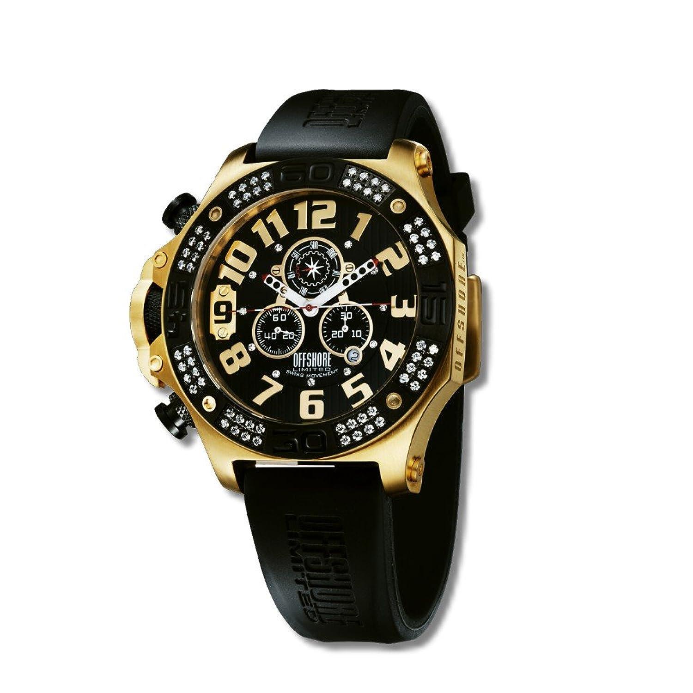 Offshore Limited Herren-Armbanduhr XL Tornade Prestige Chronograph Silikon 009 PR G