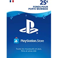 Carte PSN 25 EUR   Compte français   Code PSN à télécharger