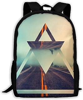 Backpacks Boy's Shoulder Bag Schoolbags School Season Triangles Room Traveling Bags