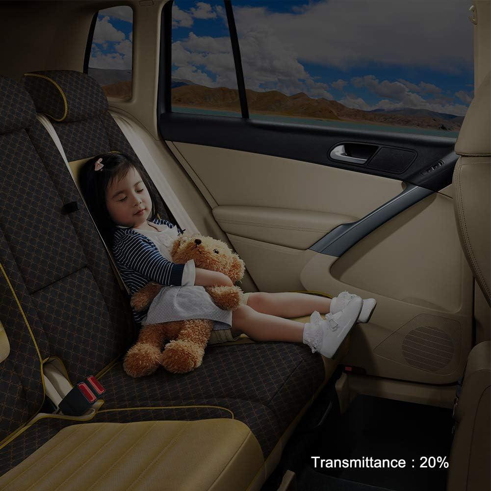 Ahomi Car Home Verre teint/é Autocollant Rouleau de Film avec racloir VLT Noir