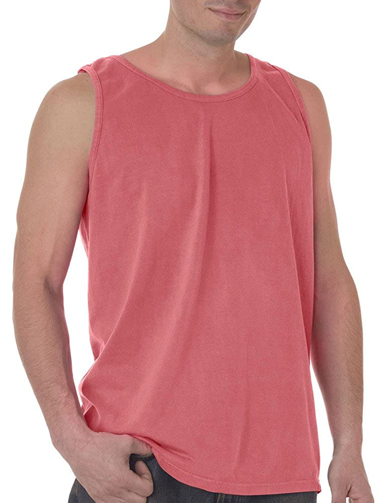 XXX-Large Watermelon PgmDye Chouinard Adult Garment-Dyed Tank Top