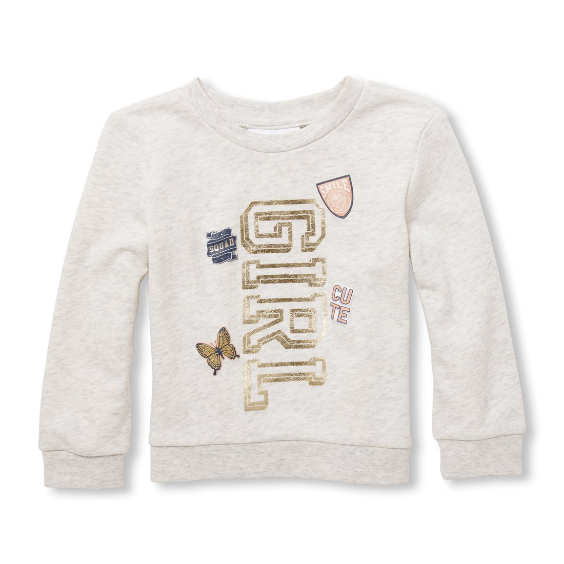 Amazon.com: The Childrens Place Baby Girls Graphic Popover Sweatshirt: Clothing