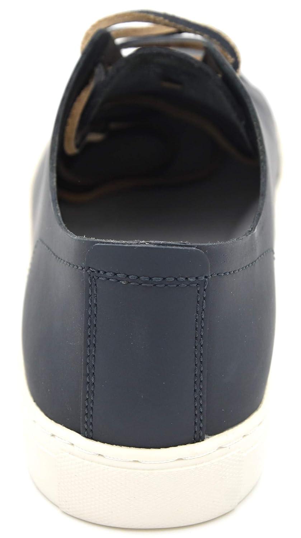 Armani Jeans Herren Turnschuhe Freizeitschuhe Turnschuhe Casual Leder Art. Art. Art. C6527 40 EU - 7 USA - 6,5 UK Blau Blau a02e60