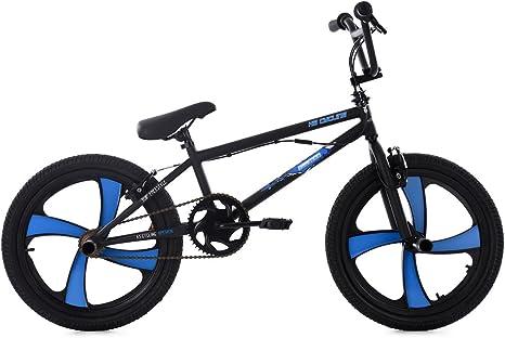 KS Cycling BMX Freestyle Daemon Bicicleta, Unisex Adulto, Negro, 20