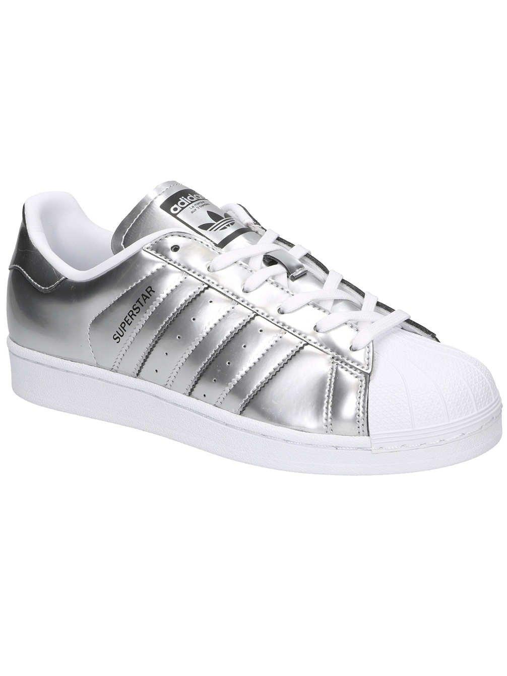 adidas Zapatillas deportivas para mujer Superstar Cg3681, mujer, CG3681, plateado y blanco, Size UK 5.5