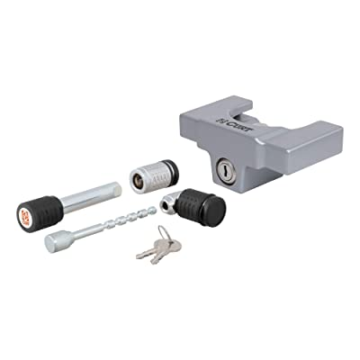 CURT 23088 Trailer Lock Set for 2-Inch Receiver and 2-Inch or 2-1/2-Inch Coupler: Automotive