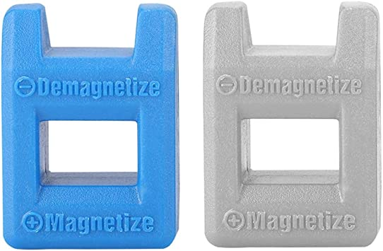 2Pcs Desmagnetizador magnético Herramienta Destornillador magnético Innovación rápida Destornillador de Bolsillo Herramienta Manual con Alta Seguridad para Puntas y Consejos para Destornilladores: Amazon.es: Electrónica