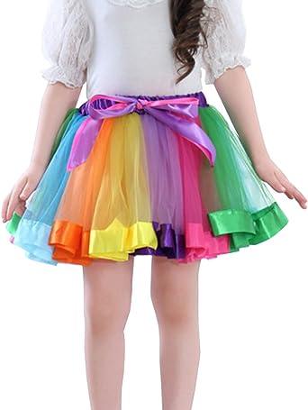 Faldas Mini Bebé Vestidos Ballet Princesa Danza Tutu Tul Falda ...