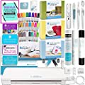 Silhouette Cameo 3 Bluetooth with Mega Bundle - Vinyl Rolls, Heat Transfer Kit, Rhinestone Kit, Fabric Kit, Starter Guide, Sketch Pens, Pixscan, Fabric Blade, and More!